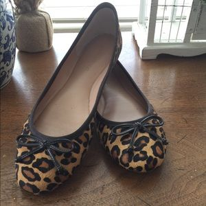 Women's leopard flats size 7.5
